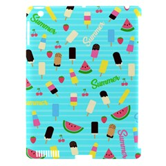 Summer Pattern Apple Ipad 3/4 Hardshell Case (compatible With Smart Cover) by Valentinaart