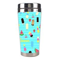 Summer Pattern Stainless Steel Travel Tumblers