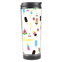 Summer Pattern Travel Tumbler