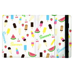Summer Pattern Apple Ipad Pro 12 9   Flip Case