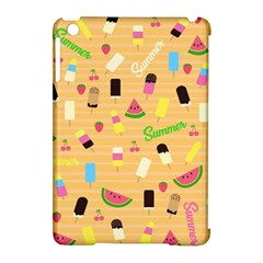 Summer Pattern Apple Ipad Mini Hardshell Case (compatible With Smart Cover) by Valentinaart