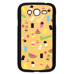 Summer Pattern Samsung Galaxy Grand Duos I9082 Case (black)