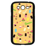Summer pattern Samsung Galaxy Grand DUOS I9082 Case (Black) Front