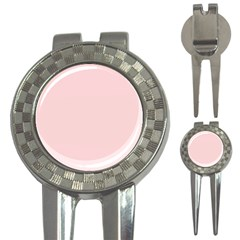Blush Pink 3 In 1 Golf Divots by SimplyColor