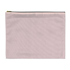 Blush Pink Cosmetic Bag (xl) by SimplyColor