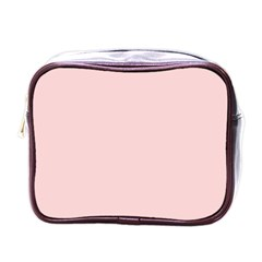 Blush Pink Mini Toiletries Bags by SimplyColor