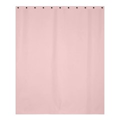Blush Pink Shower Curtain 60  X 72  (medium)  by SimplyColor