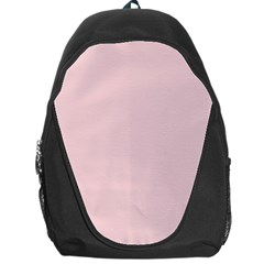 Blush Pink Backpack Bag by SimplyColor