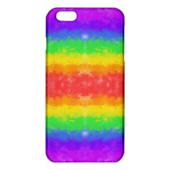 Striped Painted Rainbow Iphone 6 Plus/6s Plus Tpu Case
