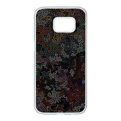 Chaos B1 Samsung Galaxy S7 Edge White Seamless Case
