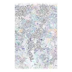 Chaos W2 Shower Curtain 48  X 72  (small)  by MoreColorsinLife