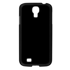 Simply Black Samsung Galaxy S4 I9500/ I9505 Case (black) by SimplyColor
