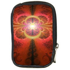 Liquid Sunset, A Beautiful Fractal Burst Of Fiery Colors Compact Camera Cases