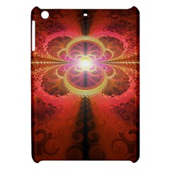Liquid Sunset, A Beautiful Fractal Burst Of Fiery Colors Apple Ipad Mini Hardshell Case by jayaprime