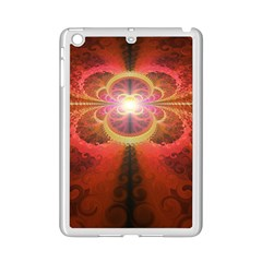 Liquid Sunset, A Beautiful Fractal Burst Of Fiery Colors Ipad Mini 2 Enamel Coated Cases by jayaprime