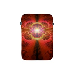 Liquid Sunset, A Beautiful Fractal Burst Of Fiery Colors Apple Ipad Mini Protective Soft Cases by jayaprime