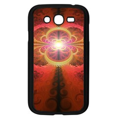 Liquid Sunset, A Beautiful Fractal Burst Of Fiery Colors Samsung Galaxy Grand Duos I9082 Case (black)
