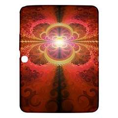 Liquid Sunset, A Beautiful Fractal Burst Of Fiery Colors Samsung Galaxy Tab 3 (10 1 ) P5200 Hardshell Case
