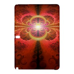 Liquid Sunset, A Beautiful Fractal Burst Of Fiery Colors Samsung Galaxy Tab Pro 10 1 Hardshell Case