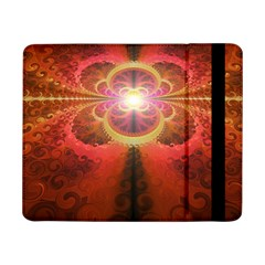 Liquid Sunset, A Beautiful Fractal Burst Of Fiery Colors Samsung Galaxy Tab Pro 8 4  Flip Case by jayaprime