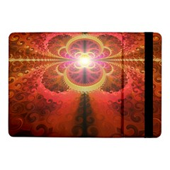 Liquid Sunset, A Beautiful Fractal Burst Of Fiery Colors Samsung Galaxy Tab Pro 10 1  Flip Case