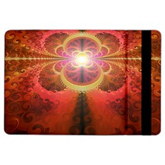 Liquid Sunset, A Beautiful Fractal Burst Of Fiery Colors Ipad Air 2 Flip by jayaprime