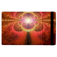 Liquid Sunset, A Beautiful Fractal Burst Of Fiery Colors Apple Ipad Pro 12 9   Flip Case
