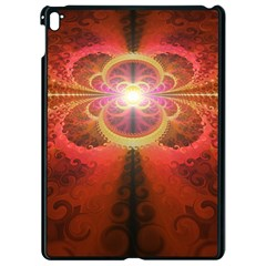 Liquid Sunset, A Beautiful Fractal Burst Of Fiery Colors Apple Ipad Pro 9 7   Black Seamless Case by jayaprime