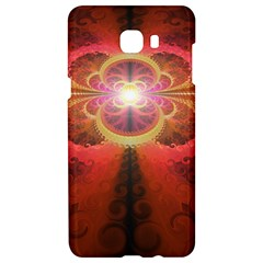 Liquid Sunset, A Beautiful Fractal Burst Of Fiery Colors Samsung C9 Pro Hardshell Case