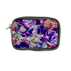 Floral Chrome 01a Coin Purse by MoreColorsinLife