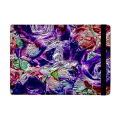 Floral Chrome 01a Apple Ipad Mini Flip Case by MoreColorsinLife