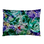 Floral Chrome 01b Pillow Case 26.62 x18.9 Pillow Case