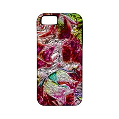 Floral Chrome 01c Apple Iphone 5 Classic Hardshell Case (pc+silicone) by MoreColorsinLife