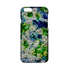 Floral Chrome 2a Apple Iphone 6/6s Hardshell Case by MoreColorsinLife