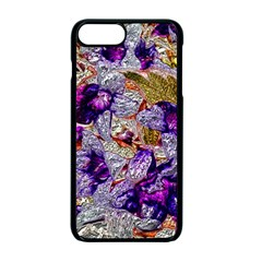 Floral Chrome 2b Apple Iphone 7 Plus Seamless Case (black) by MoreColorsinLife