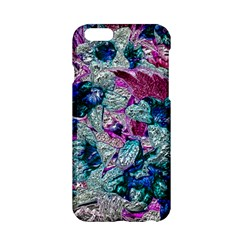 Floral Chrome 2c Apple Iphone 6/6s Hardshell Case by MoreColorsinLife