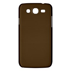Brown Hide Solid Color  Samsung Galaxy Mega 5 8 I9152 Hardshell Case  by SimplyColor
