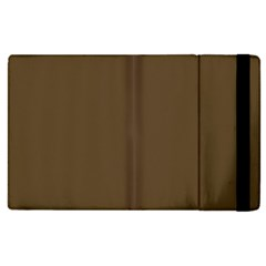 Brown Hide Solid Color  Apple Ipad Pro 12 9   Flip Case by SimplyColor