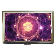 A Gold And Royal Purple Fractal Map Of The Stars Cigarette Money Cases