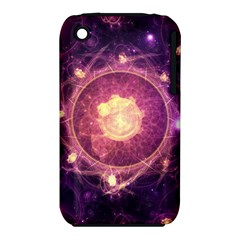 A Gold And Royal Purple Fractal Map Of The Stars Iphone 3s/3gs by jayaprime