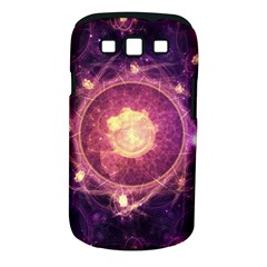 A Gold And Royal Purple Fractal Map Of The Stars Samsung Galaxy S Iii Classic Hardshell Case (pc+silicone) by jayaprime