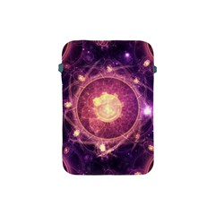 A Gold And Royal Purple Fractal Map Of The Stars Apple Ipad Mini Protective Soft Cases by jayaprime