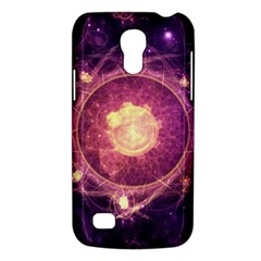 A Gold And Royal Purple Fractal Map Of The Stars Galaxy S4 Mini