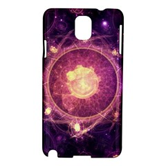 A Gold And Royal Purple Fractal Map Of The Stars Samsung Galaxy Note 3 N9005 Hardshell Case