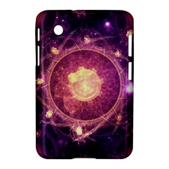 A Gold And Royal Purple Fractal Map Of The Stars Samsung Galaxy Tab 2 (7 ) P3100 Hardshell Case  by jayaprime
