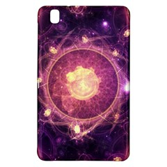 A Gold And Royal Purple Fractal Map Of The Stars Samsung Galaxy Tab Pro 8 4 Hardshell Case