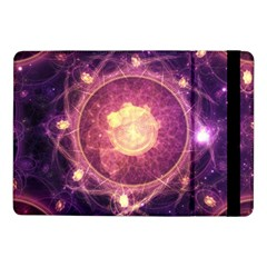 A Gold And Royal Purple Fractal Map Of The Stars Samsung Galaxy Tab Pro 10 1  Flip Case