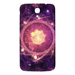 A Gold And Royal Purple Fractal Map Of The Stars Samsung Galaxy Mega I9200 Hardshell Back Case