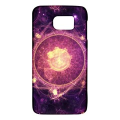 A Gold And Royal Purple Fractal Map Of The Stars Galaxy S6