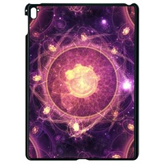 A Gold And Royal Purple Fractal Map Of The Stars Apple Ipad Pro 9 7   Black Seamless Case